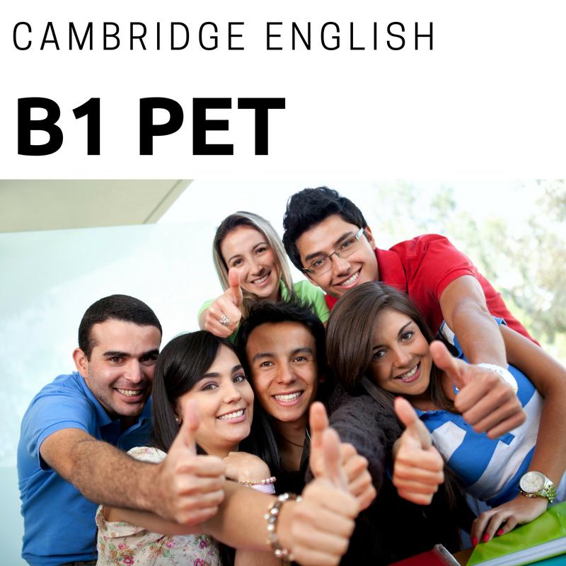 curso B1 PET Cambridge Pontevedra